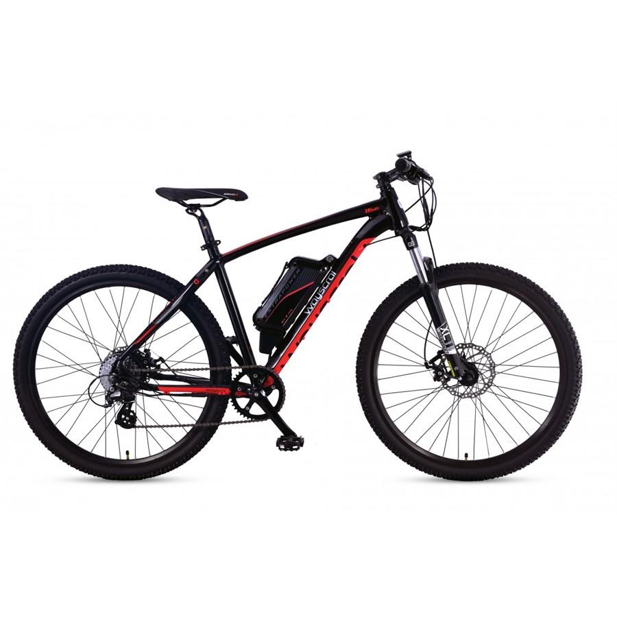 Vélo électrique Wayscral Sporty 645 - noir / rouge STOCK TRÈS LIMITE vérifiez que votre centre norauto en a )