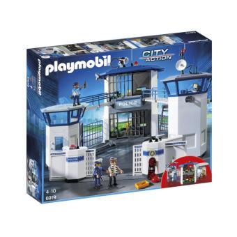 40% de réduction sur une sélection de jouets Playmobil - Ex : Commissariat de police avec prison