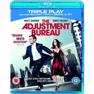 "L'Agence  ""The Adjustment Bureau"" - Triple Play (Blu-ray + DVD + Digital Copy)"