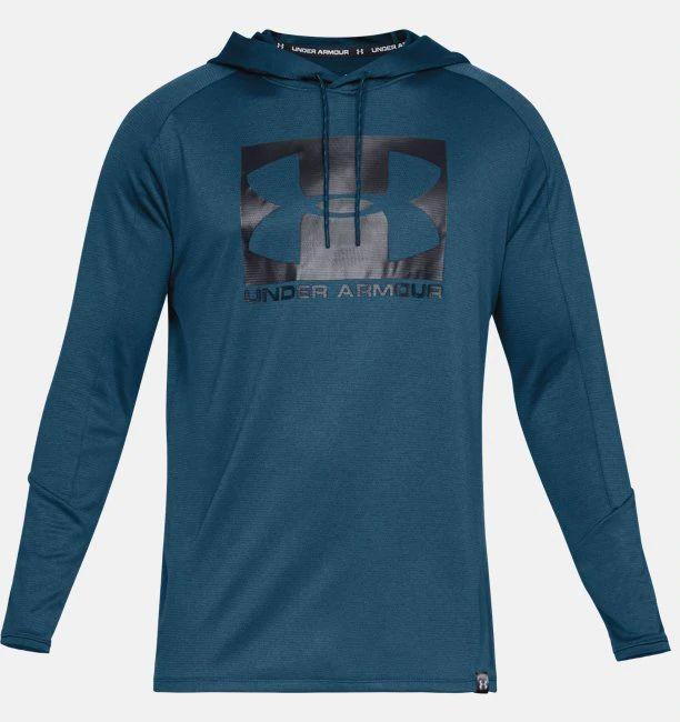 Sweat-shirt à capuche UA Lighter - bleu (du S au XL)