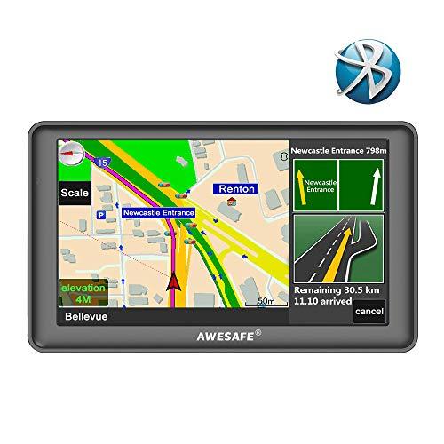 "GPS auto 7"" Awesafe - avec cartographie 48 pays, 8 Go, Bluetooth (vendeur tiers)"