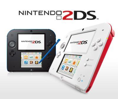 Console Nintendo 2DS (coloris au choix)