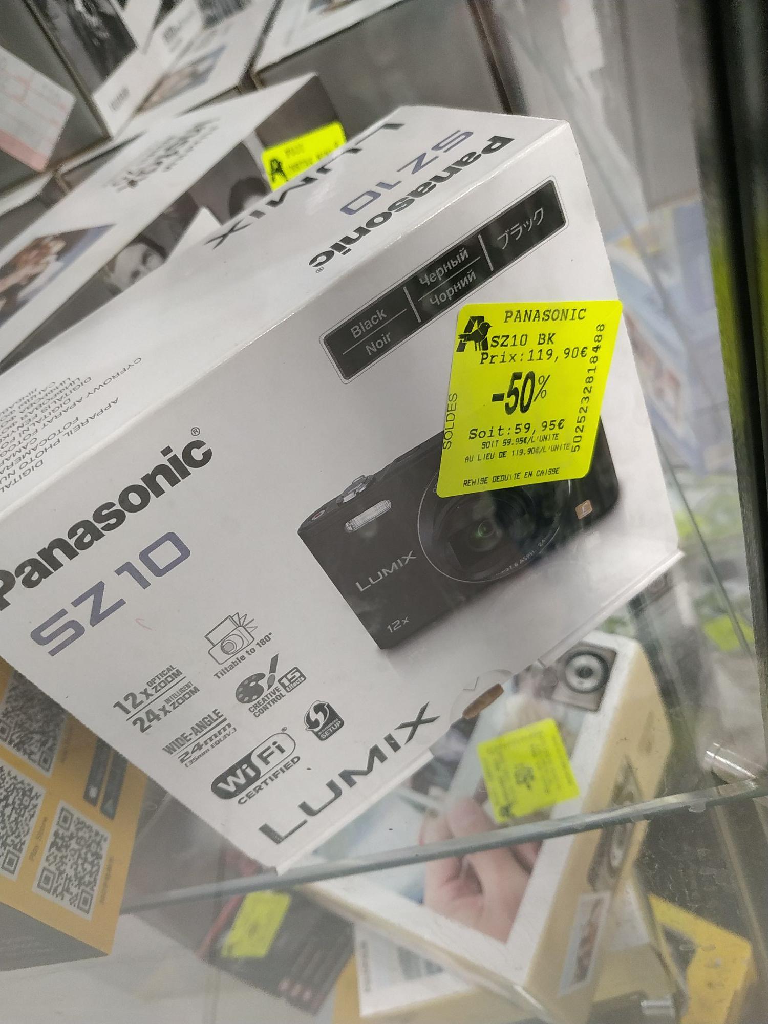 Appareil photo numérique compact Panasonic Lumix DMC-SZ10 - 16 Mpx - Fontenay-sous-Bois (94)