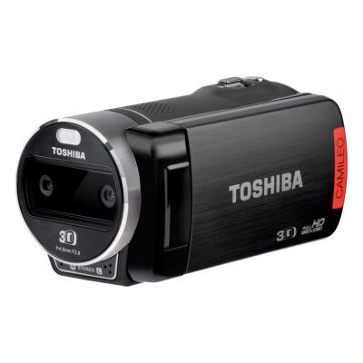 """Camescope 3D Full HD Toshiba Camileo Z100 - Ecran tactile 3D 2.8"""", Zoom numérique 10X, Mini HDMI"""