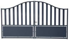 Portail aluminium Josas - L3m06 x H1,76m (Ou 3m56 à 189€)