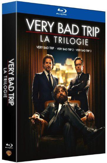 Coffret Blu-ray Very Bad Trip - La Trilogie