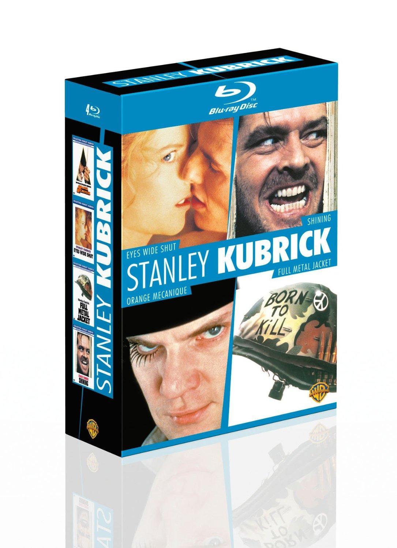 Coffret Blu-ray Stanley Kubrick : Shining, Orange Mécanique, Full Métal Jacket, Eyes Wide Shut