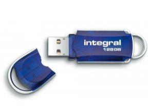 Clé USB 2.0 Integral Courier - 128 Go