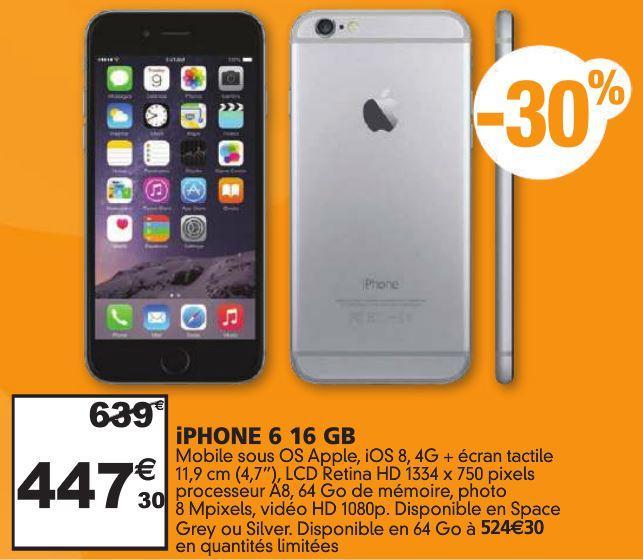Smartphone Apple iPhone 6 - 16 Go
