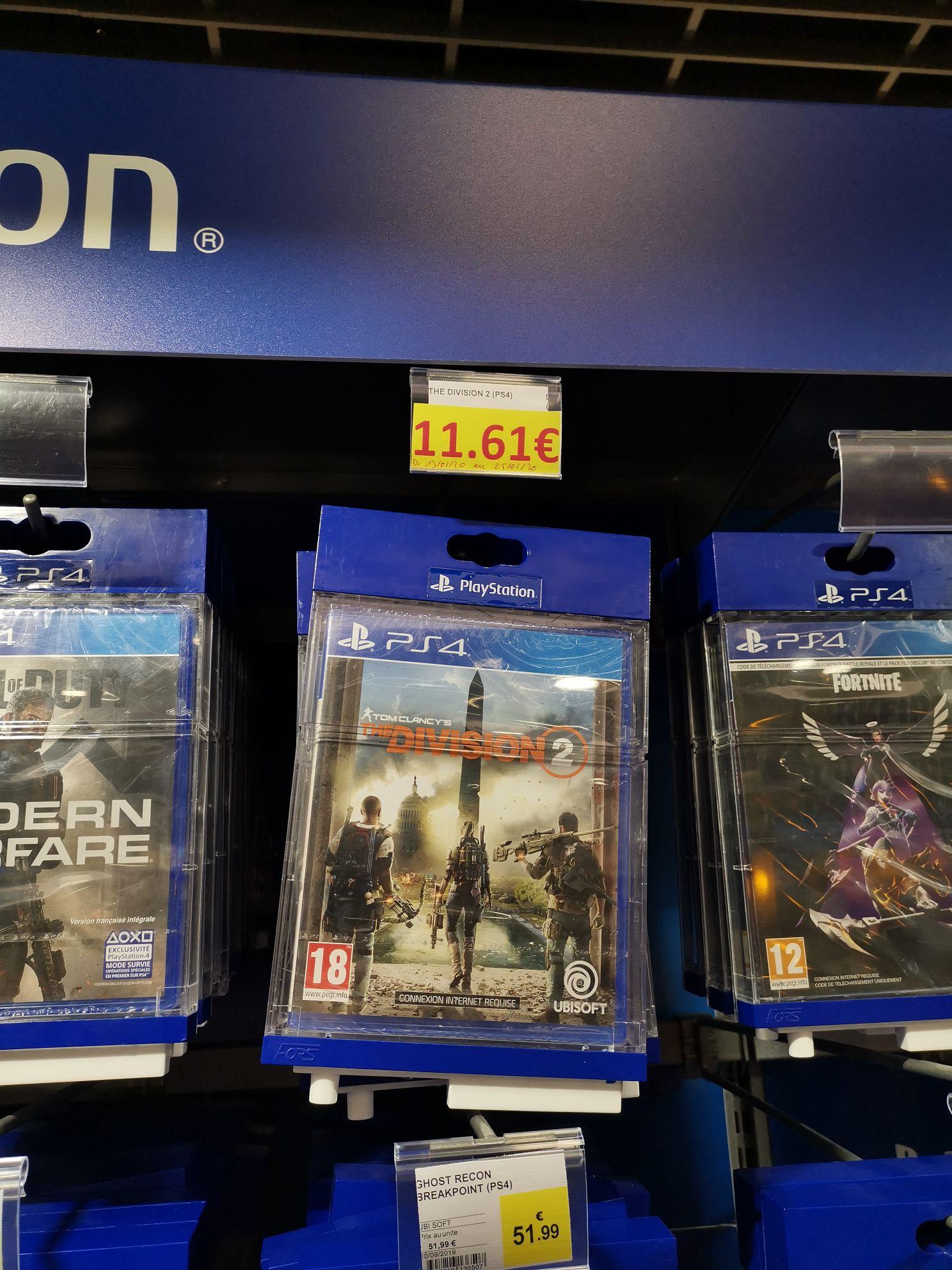 Jeu The Division 2 sur PS4 ou Xbox One - Firminy (42)
