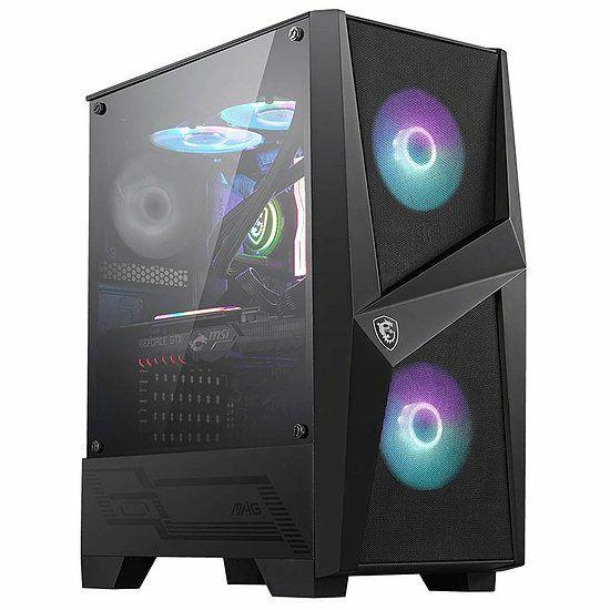 Boîtier PC MSI MAG Forge 100R - Moyen Tour