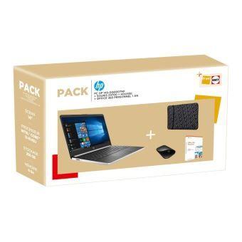 "PC Portable 14"" HP 14s-dq0007nf - i3-8145U, 8Go RAM, 256Go SSD + Souris + Sacoche + Office 365 1 an (Via ODR 40€ + 40€ fidélité adhérents)"