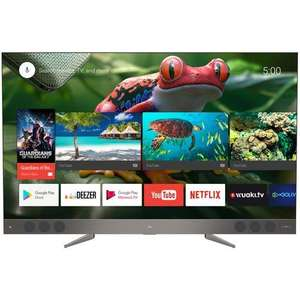 "TV 65"" TCL U65X9006 - 4K UHD, QLED, Android TV, Barre de son JBL"