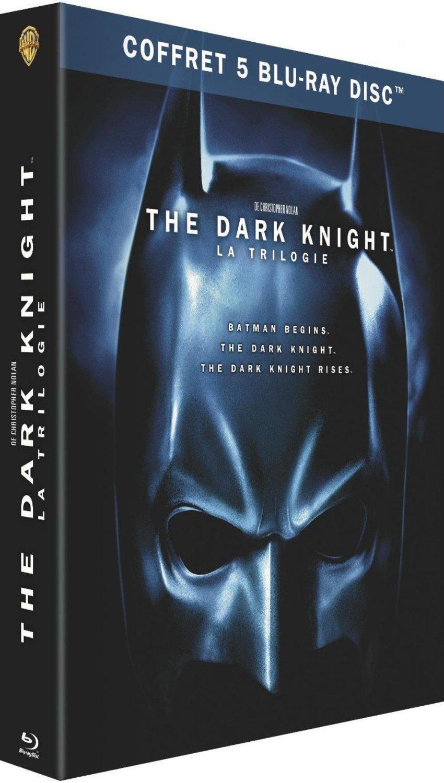 Coffret 5 Blu-ray : Batman The Dark Knight - La trilogie