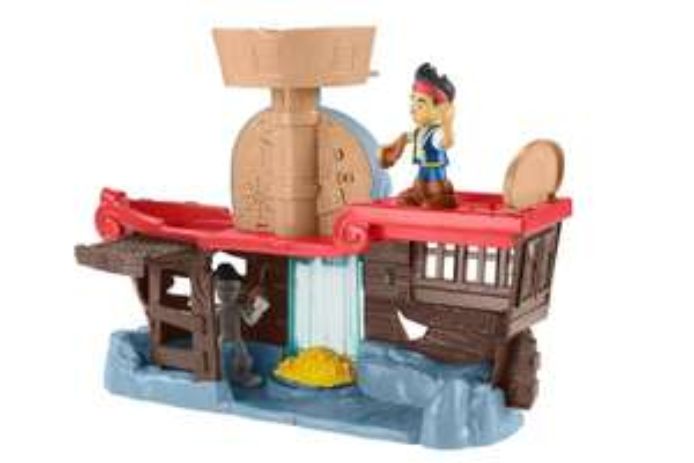 jeu D'exploration Fisher Price Jake et les pirates - Naufrage Sur Lîle Du Crane