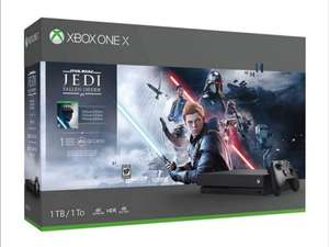 Pack console Microsoft Xbox One X (1 To) + Star Wars Jedi: Fallen Order - Édition Deluxe