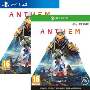 Anthem sur Xbox One & PS4