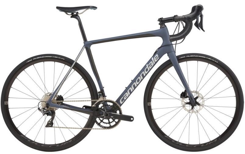 Vélo de route Cannondale Synapse Carbon Disc Dura-Ace 2019 - Gris