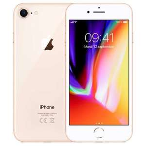 "Smartphone 4.7"" Apple iPhone 8 - 64 Go, Or (Reconditionné - Stallone)"