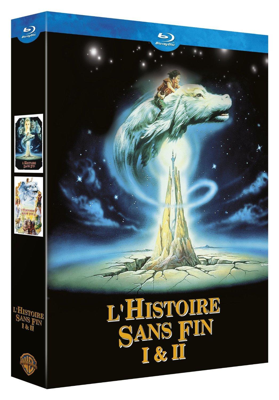 Coffret Blu-ray L'Histoire sans fin 1 + 2