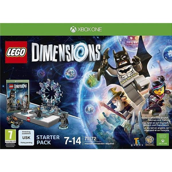 Pack de démarrage Lego dimensions sur Xbox One, Xbox 360, PS3