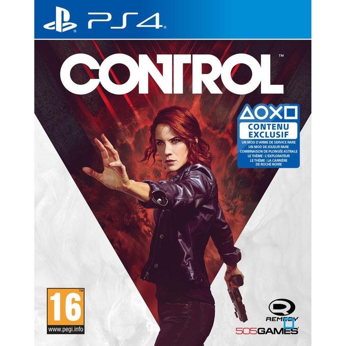 Control sur PS4 (vendeur tiers)