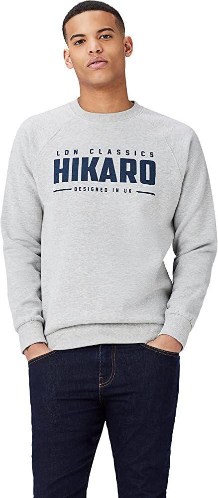 Sweat-Shirt Imprimé Homme Hikaro (Taille XL)