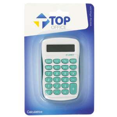 Calculatrice de poche Top Office - 9x5 cm