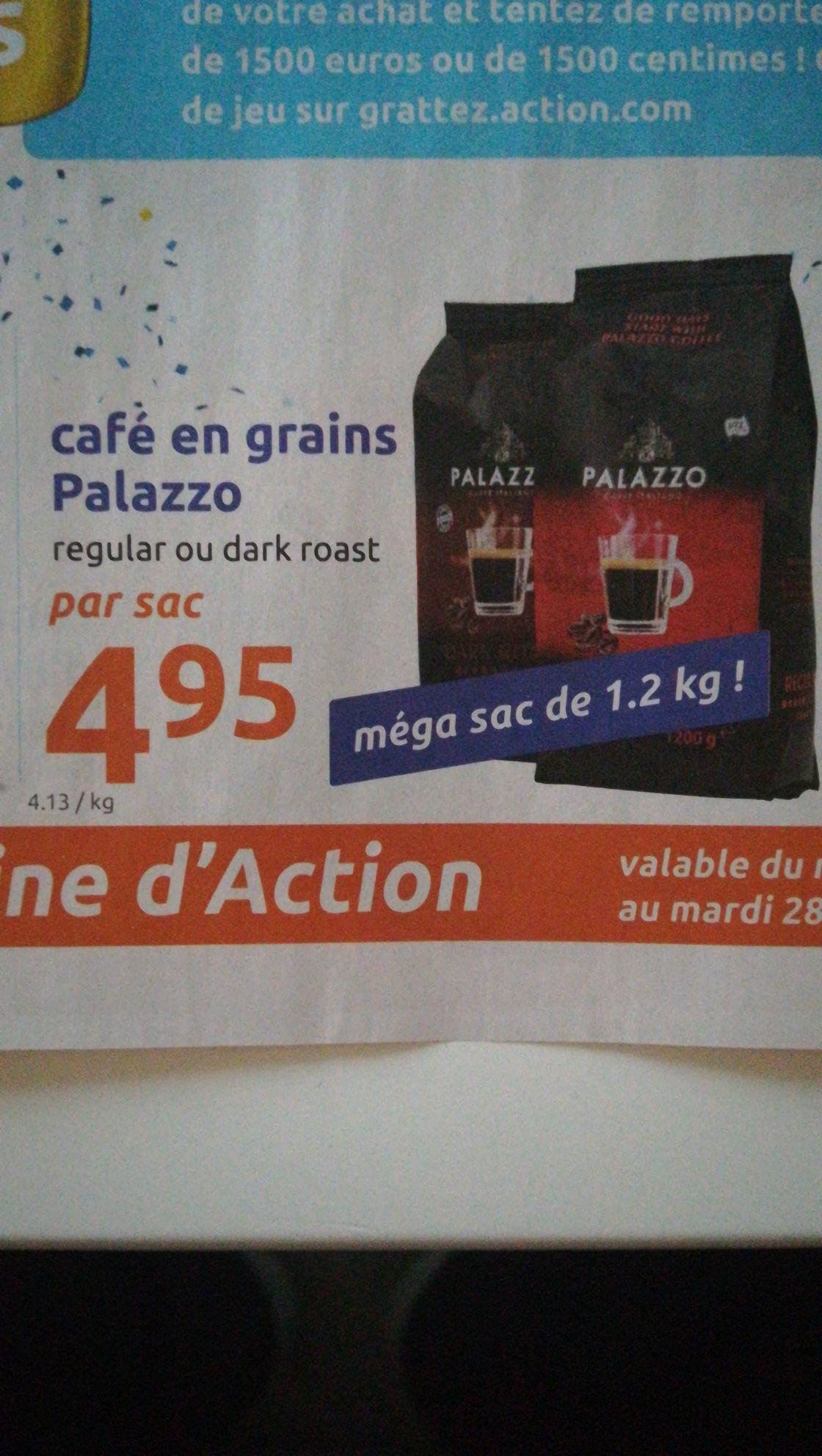 Café en grains Palazzo - 1,2Kgs