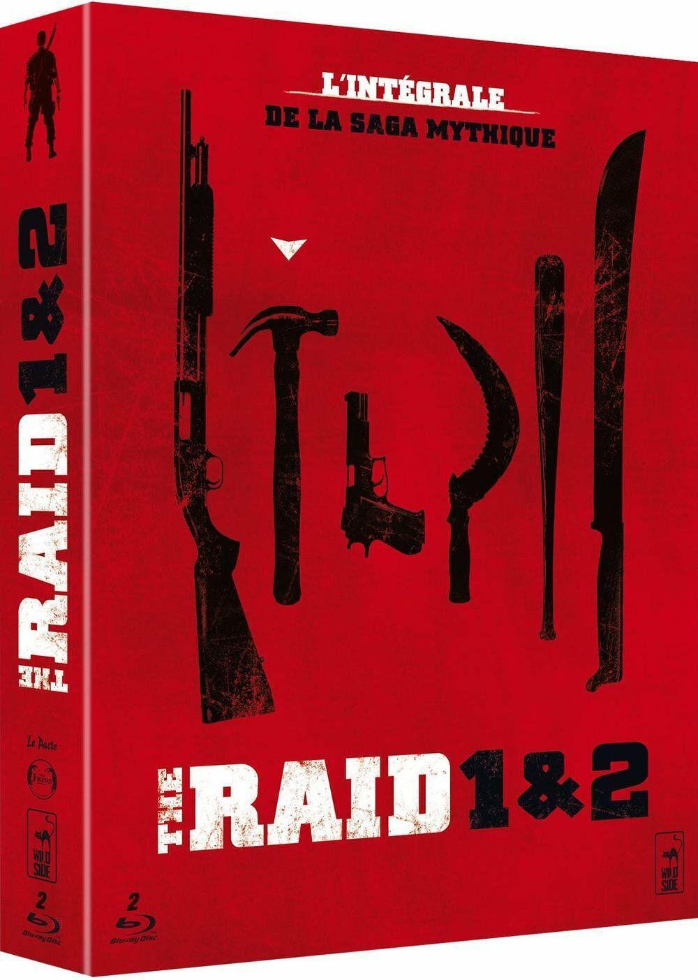 Coffret Blu-ray The Raid 1 et 2
