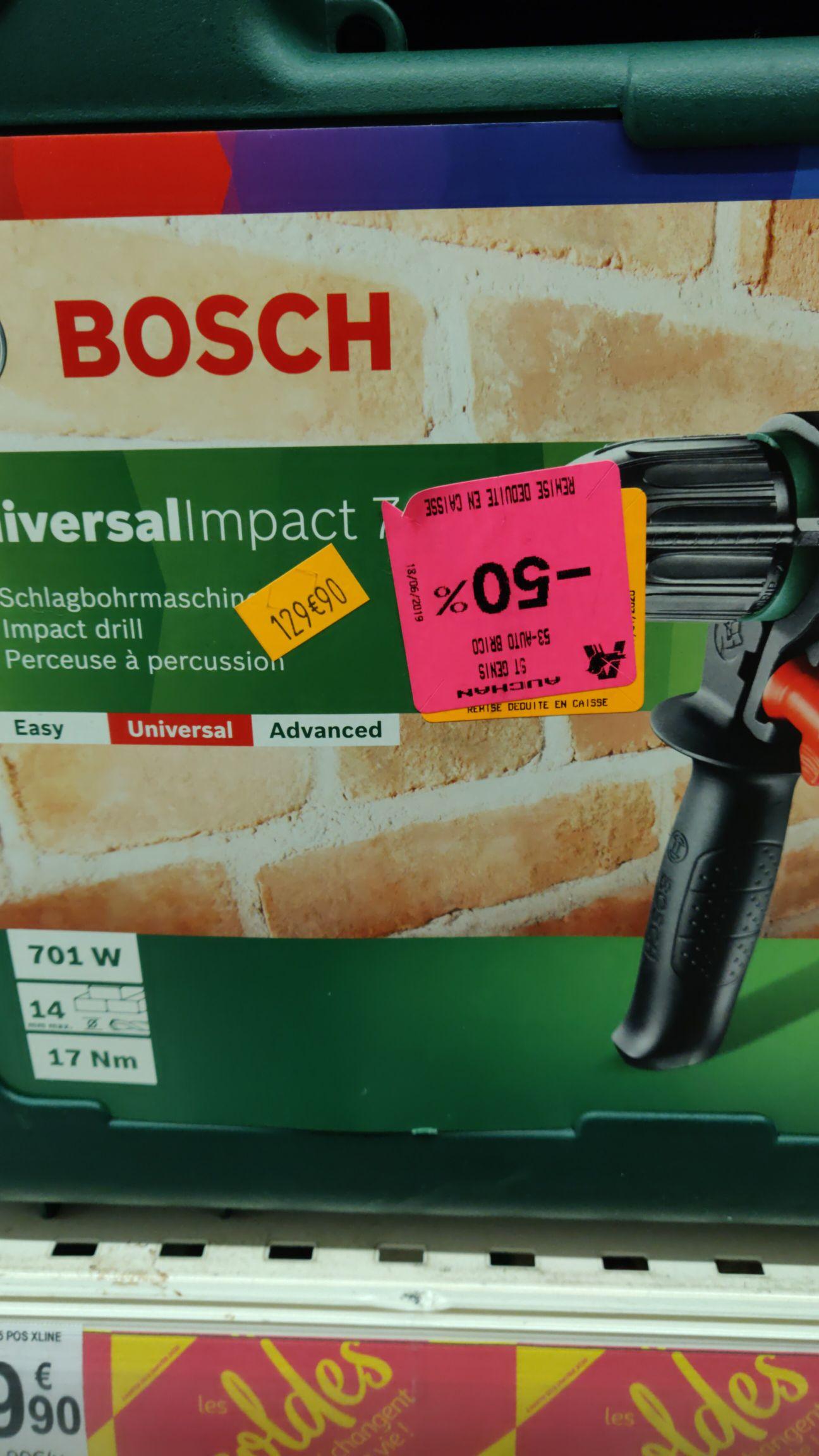 Perceuse à percussion Bosch Universal Impact - 700W - Saint-Genis-Laval (69)