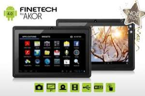 "Tablette 7""  Finetech by Akor 4Go (Android 4.0, capacitive)"