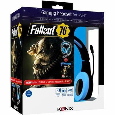 Casque Konix PS-400 + Fallout 76 sur PS4