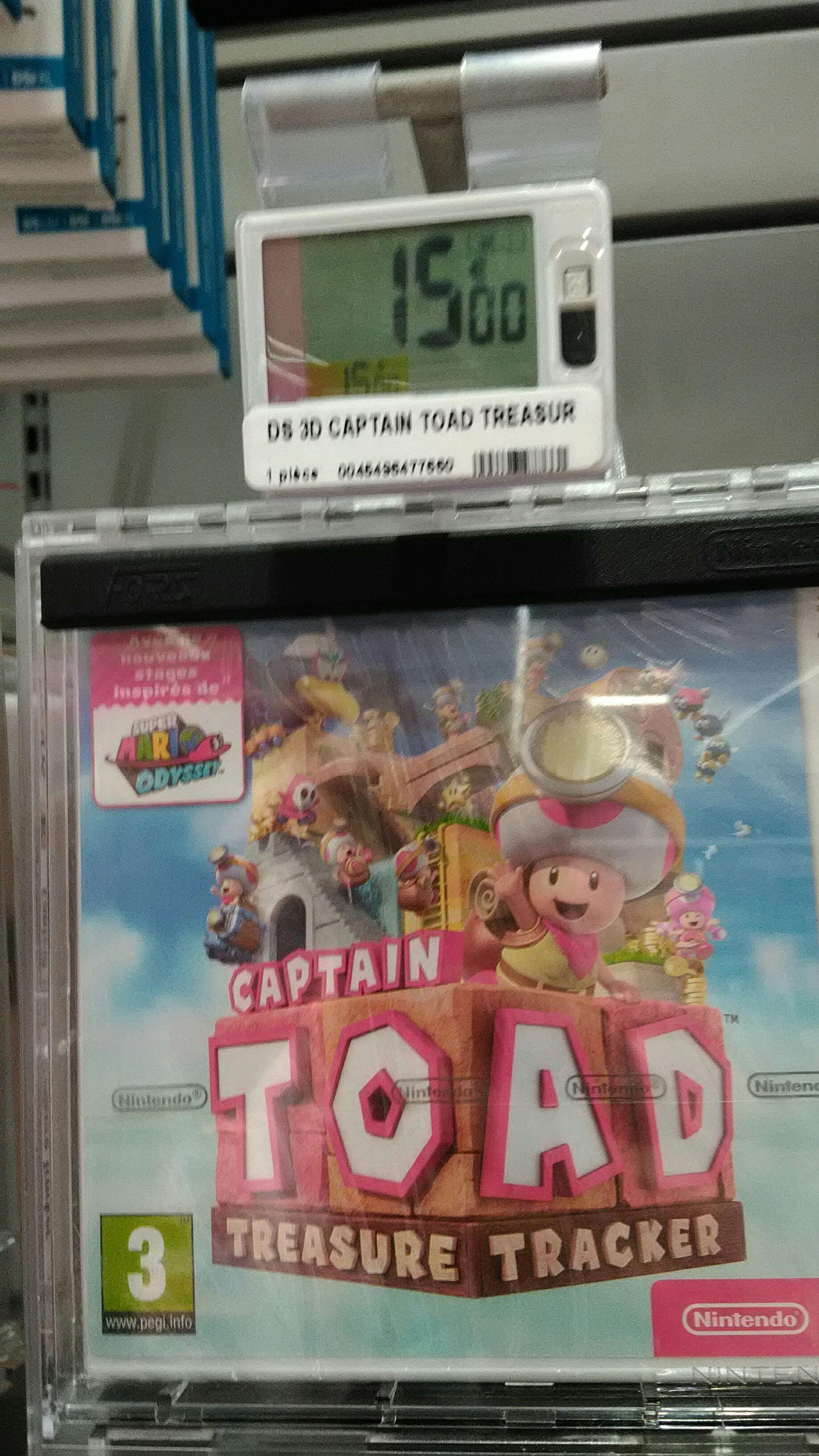 Captain Toad Treasure Tracker sur Nintendo 3DS - Nevers Marzy (58)