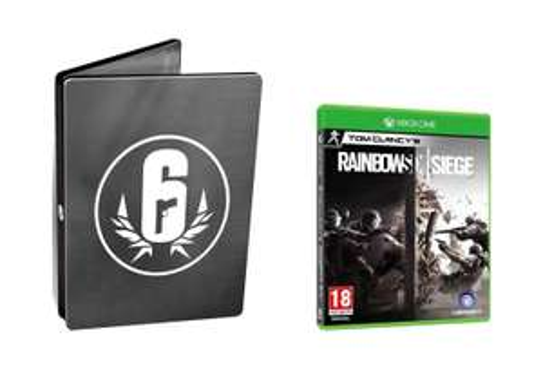 Tom Clancy's Rainbow Six Siege - Steelbook Edition sur Xbox One et PS4