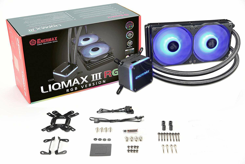 Kit de Watercooling AIO Enermax Liqmax III RGB 240