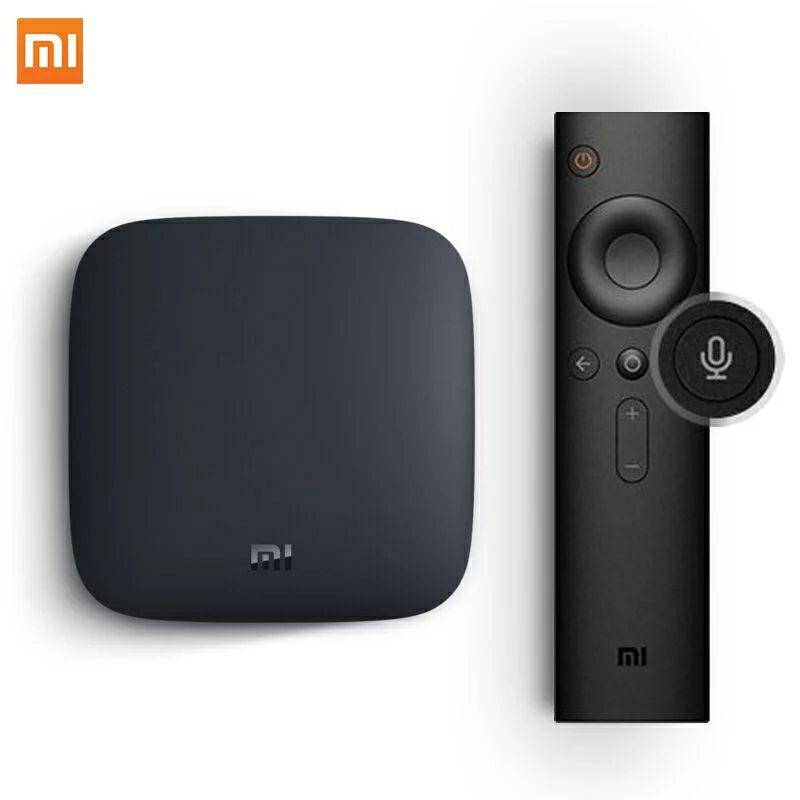 Box Android TV Xiaomi Mi Box 3 - UHD 4K, Cortex A53, RAM 2Go, 8Go, Android 8.1 (Plug EU)
