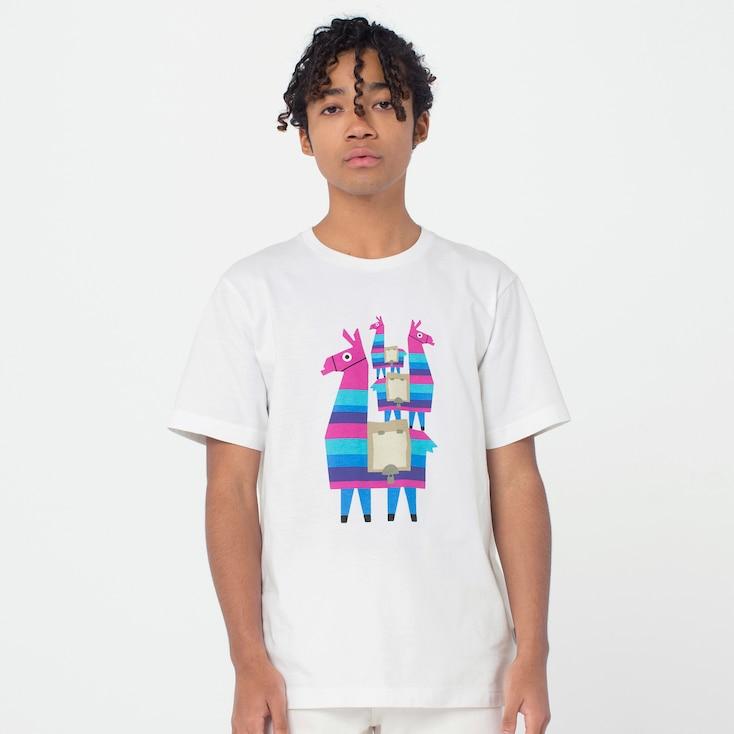 Sélection de t-shirt en promotion - Ex: T-shirt Fortnite Lama - Différentes tailles