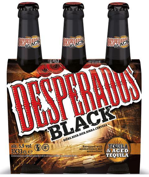 Pack de bières Desperados Black - 3x33cl (via Shopmium)