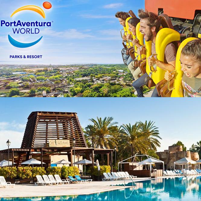 4 Jours / 3 Nuits en hôtel 4* avec 2 jours d'accès au parc Portaventura 1 jour Ferrari Land, demi-pension, hors juillet / août, par personne
