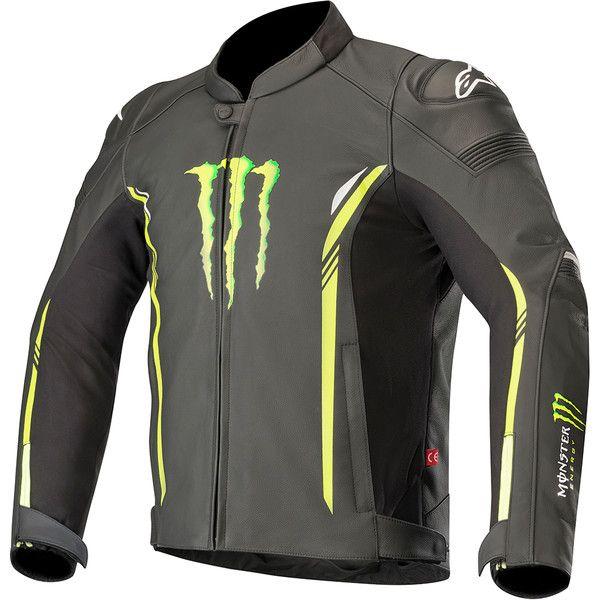Blouson moto Alpinestars Burner Monster Energy - Tailles 48 à 58