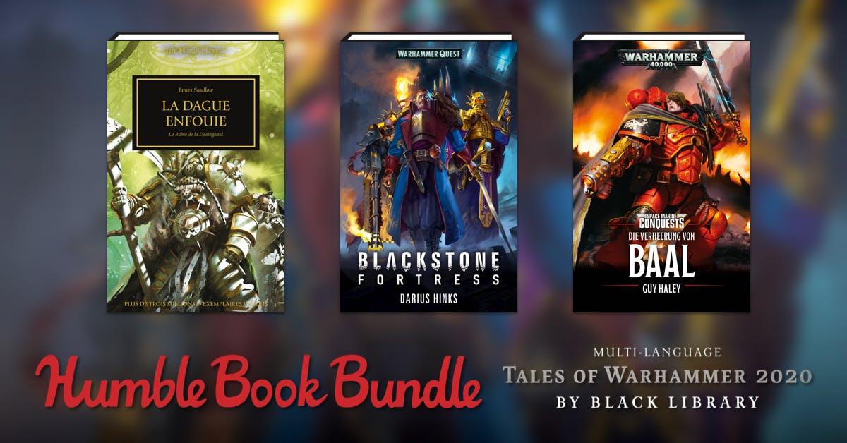 Humble Bundle eBooks - 18 eBooks Black Library Warhammer (Dématérialisés)