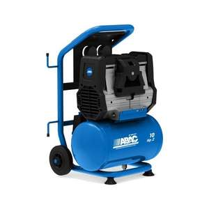 Compresseur d'air silencieux 59 dB Abac Silverstone OS20P 10 litres 2.0Hp (lineonline.fr)