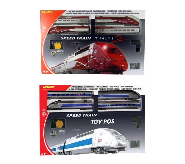 Coffret de train Mehano - TGV pos ou Thalys - T107