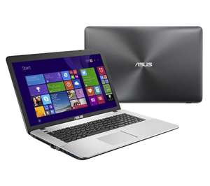 "PC Portable 17"" Asus K751LB-TY212T (Intel Core i7-5500U, HDD 1 To, 8 Go DDR3, 1600 x 900, Windows 10)"