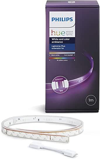 Extension Ruban Lumineux Philips Hue Lightstrip Extension White And Color Ambiance - 1m (frais de port inclus)