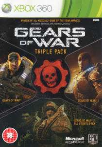 Gears of War: Triple Pack Xbox 360 (Gears of War 1 & 2 + Tous les DLCs du 2)