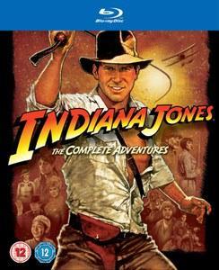 Coffret Bluray Intégrale Indiana Jones