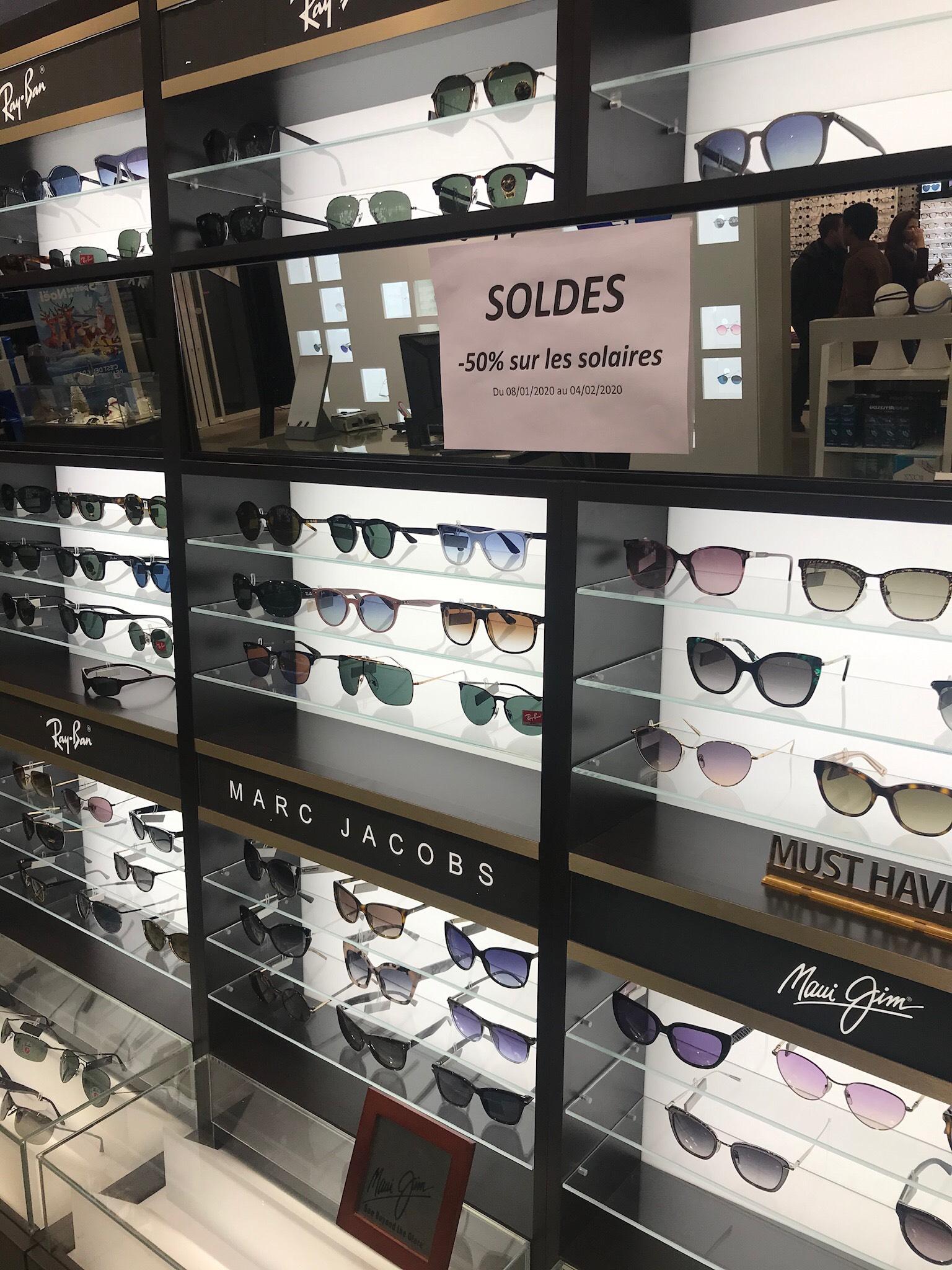 50% de réduction sur les lunettes solaire - Afflelou Amilly (45)