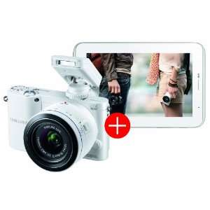 "Appareil photo Samsung NX1000 + tablette Samsung galaxy tab 2 7"" blanc"